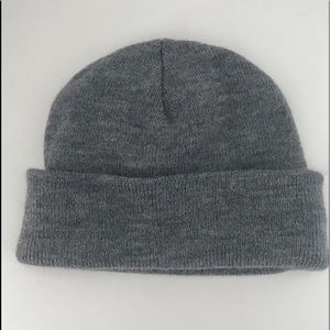 Urban Outfitters gray beanie knit hat